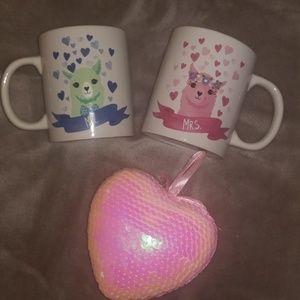 Mr & Mrs Matching Coffee Mugs